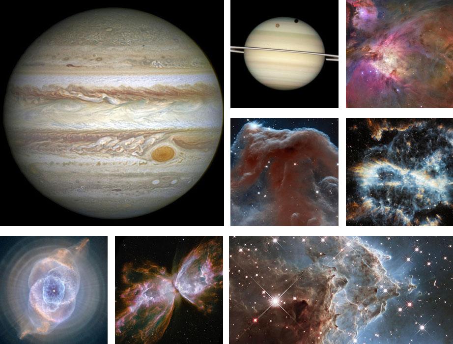 Algunas de las mejores imágenes de Hubble