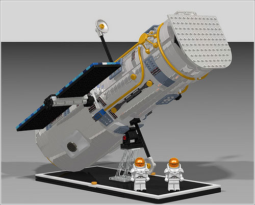 Hubble de Lego