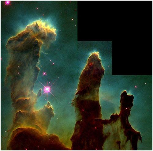 Los pilares de la creación - NASA, Jeff Hester, and Paul Scowen (Arizona State University)
