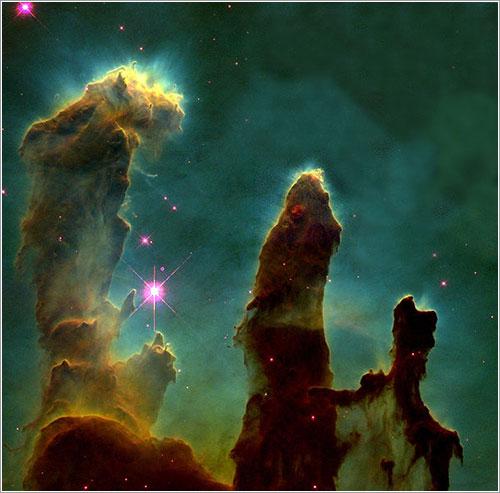 Los pilares de la creación  - NASA/ESA