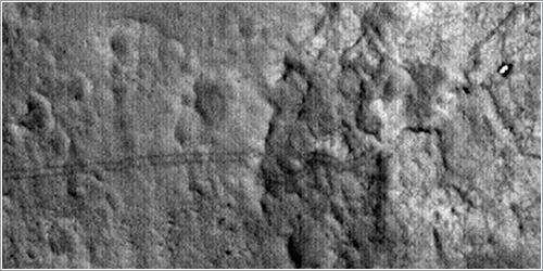 Huellas de Curiosity - NASA/JPL/University of Arizona