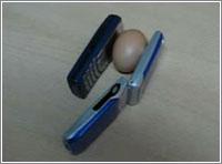 Huevo y móviles © CPI