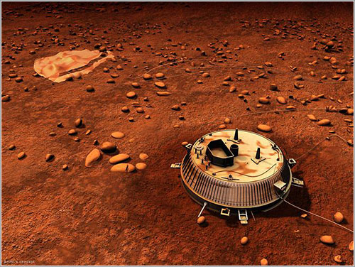 Huygens en Titán