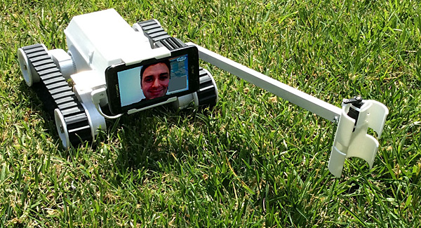 RumbleBot telepresence bot