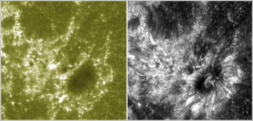 Primera imagen del IRIS - NASA/SDO/IRIS