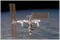 ISS vista desde el Discovery en la misión STS-116 © NASA