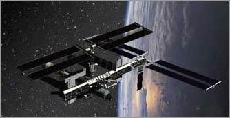 ISS con P3/4 truss en su sitio