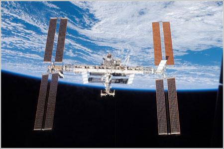 ISS tras la misión STS-117 de la NASA