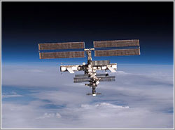 ISS desde el Discovery