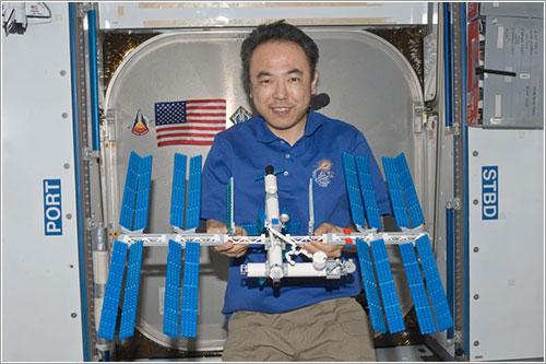 ISS de Lego en la ISS - NASA