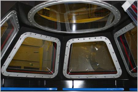 Vista desde el interior de la cúpula - NASA