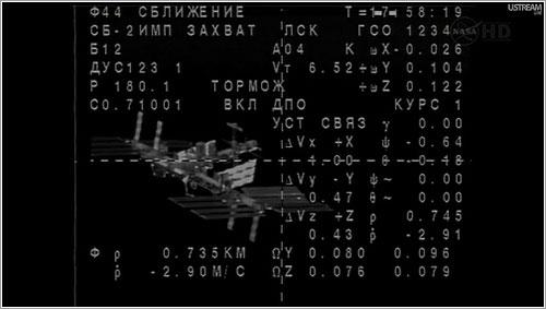 La ISS desde la TMA-03M