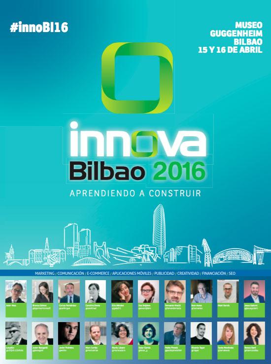 Cartel de Innova Bilbao 2016