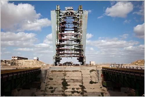 Instalaciones espaciales soviéticas abandonadas