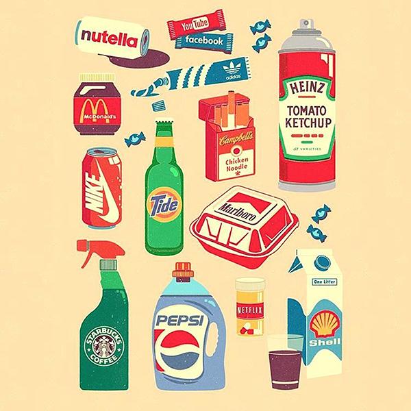 Inventive Brand Mix Digital Illustrations 15