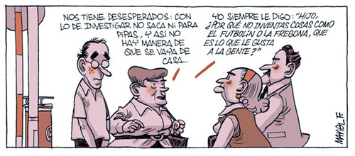 Científicos made in Spain por Manel Fontdevila