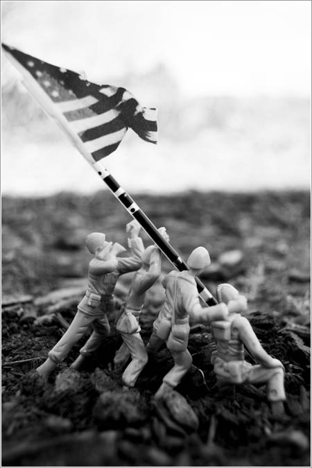 The Battle of Iwo Jima © srcurran