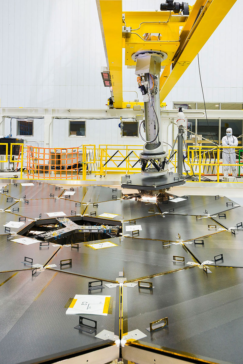El brazo robot en acción