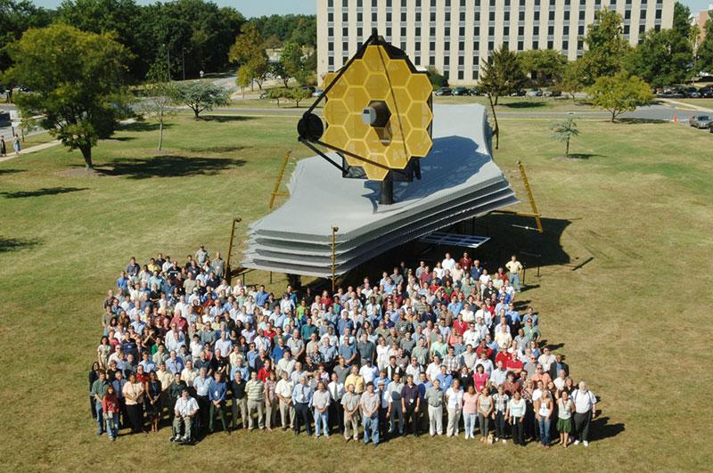 Resultado de imagen de El telescopio Espacial James Webb