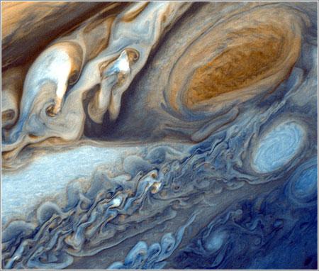 Júpiter fotografiado por la Voyager 1 / NASA
