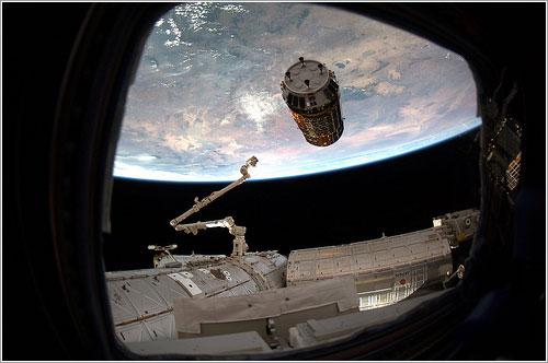 Listos para enganchar - ESA/NASA