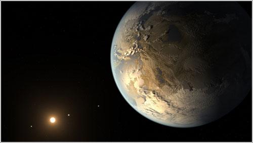 Impresión artística de Kepler-186f
