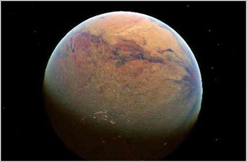 Impresión artística de Kepler-61B