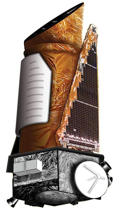 Ilustración del Kepler