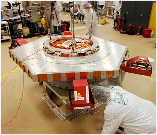 Los volantes de reacción del Kepler - Ball Aerospace