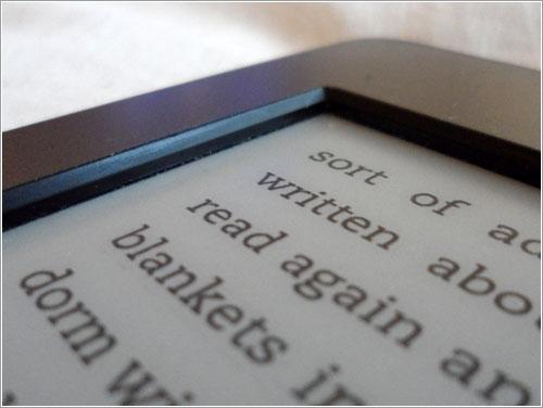 Sensores Kindle Touch