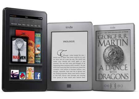 Los Kindle de septiembre de 2011