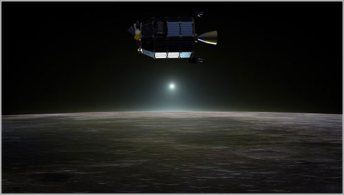 LADEE en órbita alrededor de la Luna