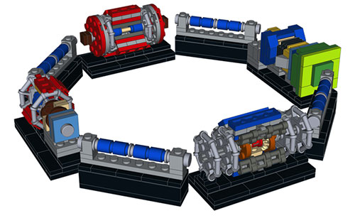 LHC de Lego