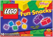 LEGO Fun Snacks © 2007 Kellogg NA Co.