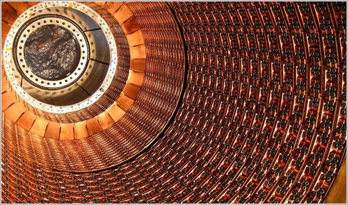 Calorímetro del instrumento ATLAS - Roy Langstaff, © CERN