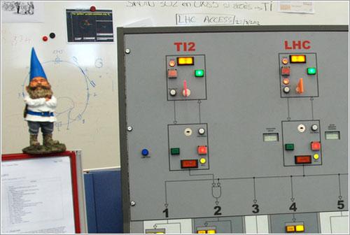 El gnomo en el LHC