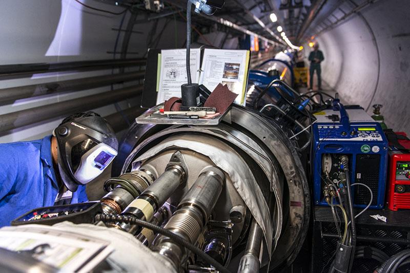 Preparando el LHC para su segunda temporada