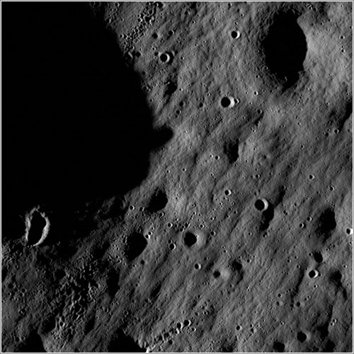 Superficie de la Luna por la LRO - NASA/Goddard Space Flight Center/Arizona State University