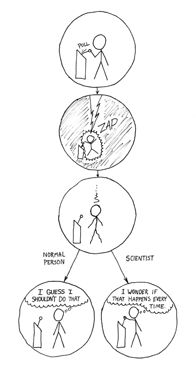 La diferencia por Randall Munroe