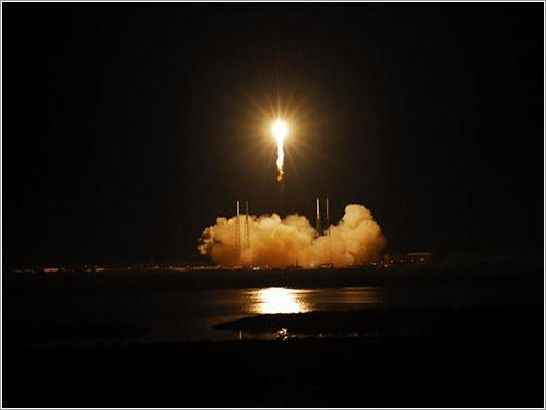 Foto del lanzamiento - NASA/Alan Ault