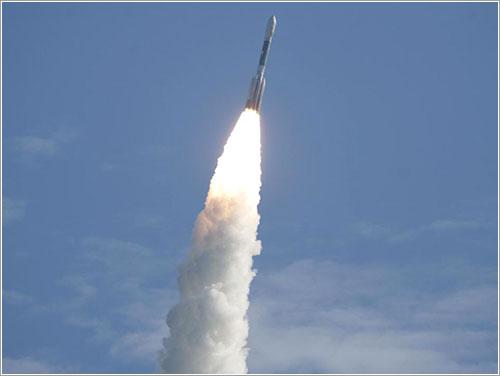 Lanzamiento de las sondas GRAIL - NASA/Darrell McCall