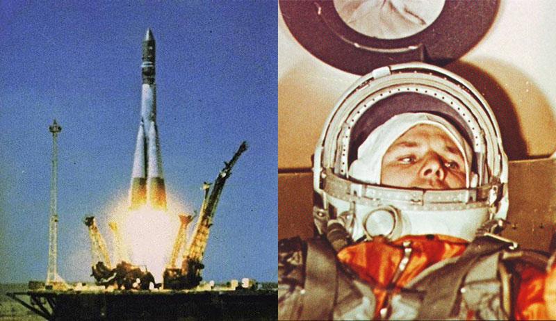 Lanzamiento de Gagarin