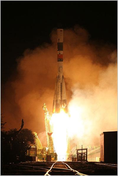 Soyuz-U despegando