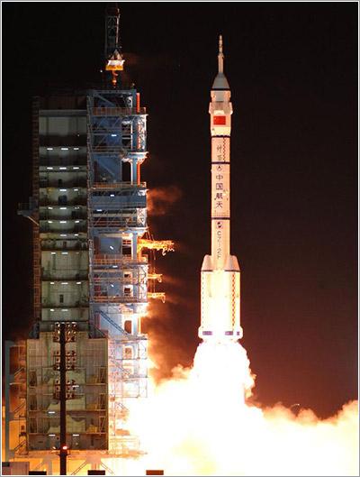 Lanzamiento de la Shenzhou 8
