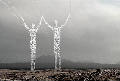 Gigantes en Islandia