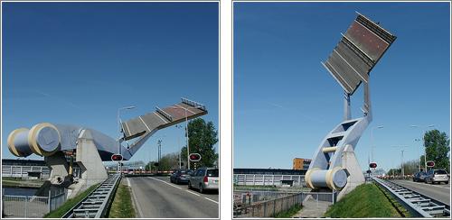 Puente «volante» en Leeuwarden © Mark van Reesk