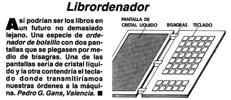 Librordenador por Pedro G. Gans