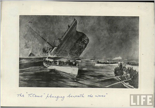 Hundimiento del Titanic - Life
