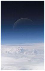 El borde de la atmósfera