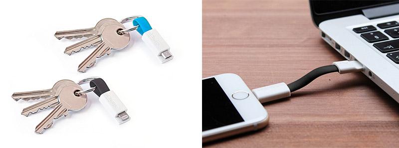 Llavero USB + Lightning